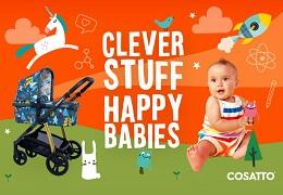 Не просто дизайн, а целая наука! Baby Science и Cosatto