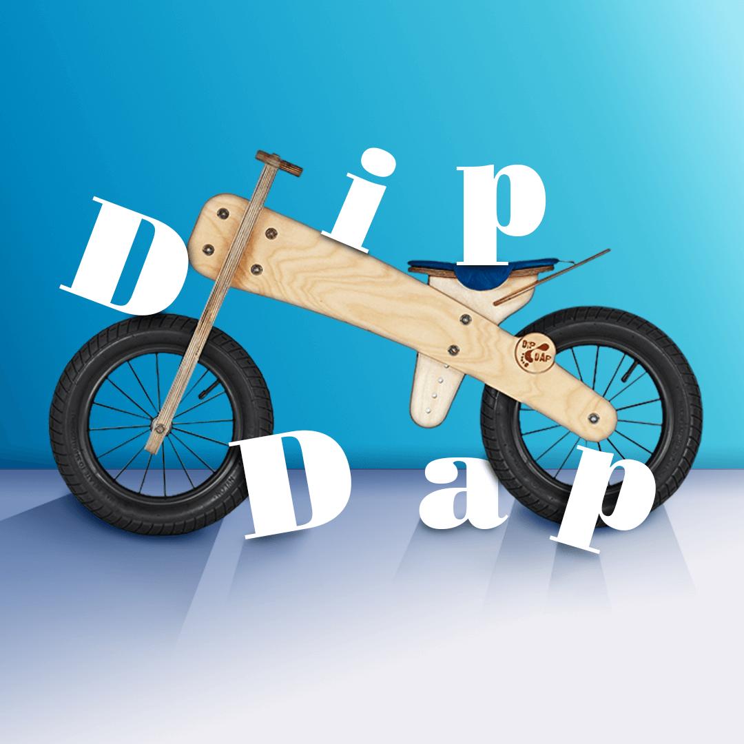 Совместная закупка: эксклюзивные беговелы Dip Dap!